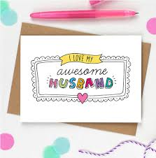 card for husband awesome husband card by eskimo designs notonthehighstreet