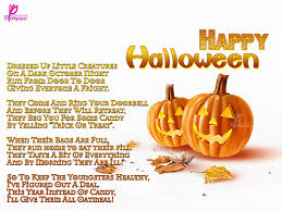 Kids Halloween Poem Happy Halloween Poem And