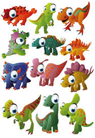 cute big eyes dinosaur wall stickers totally movable cute dinosaurs jpg