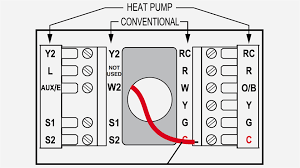 goodman heat pump thermostat wiring diagram in package endearing
