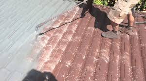 Cement Tile Roof 27 October 2014 Aquashield Roofing Au Spraying Sealer On Cement