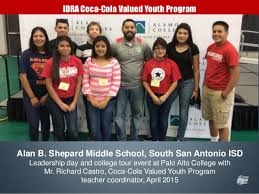 alan b shepard high school yearbook celebrating our 2014 15 idra coca cola valued youth program tutors