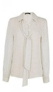 ivory silk blouse estrella printed silk blouse official site