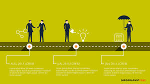 Free Powerpoint Timeline Template Human Vector Timeline Free Powerpoint Template Alliance