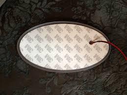 lexus glowing logo white led emblem