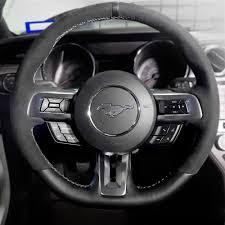 mustang steering wheels mustang shelby gt350 steering wheel 15 17 fr3z3600ac
