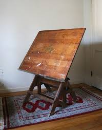 Antique Drafting Table Antique Drafting Table Image Beblincanto Tables Build An