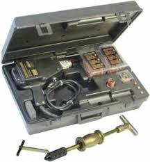 uni kit uni spotter deluxe stud welder kit 9000 kms c a r parts