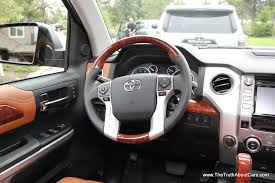 nissan tundra interior pre production review 2014 toyota tundra with video the truth