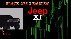 call of duty jeep emblem black ops 2 emblem tutorial jeep cherokee youtube