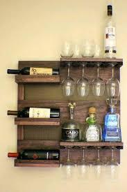 wine rack diy wine glass rack under cabinet 18 diy wine rack and