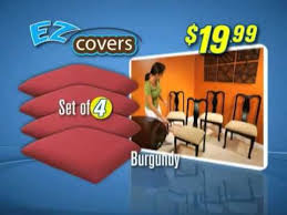 as seen on tv chair covers ez covers the official as seen on tv commercial