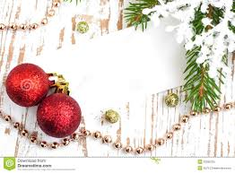 christmas card with decorations royalty free stock photo image