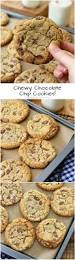 chewy chocolate chip cookies perfectly soft chewy and