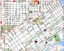 san francisco map sightseeing road map of san francisco downtown financial district san