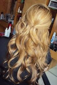 half up half down prom hairstyles pinterest popular long