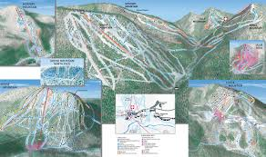 Stone Mountain Map Conditions U0026 Trail Map Winter Lutsen Mountains