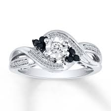 black and white engagement rings for jcpenney wedding rings sale tags empty wedding ring settings