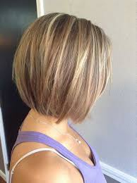 hi and low lights on layered hair two toned short haircuts featuring blonde and brown hair colors