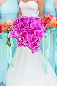 purple and orange wedding ideas best 25 orchid bridal bouquets ideas on pinterest purple orchid