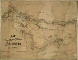 Fredericksburg Va Map Map Of The Battlefield At Fredericksburg Civil War Trust