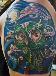 tattoos of owls give wisdom to body art tattoo articles ratta