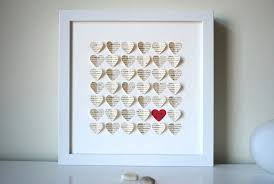 great anniversary gifts wedding gift personalized framed 3d song hearts your song