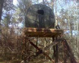 Hunting Ground Blinds On Sale Jpeg Elevated Deer Shack Elevated Hexagon Deer Blind Make Your Own