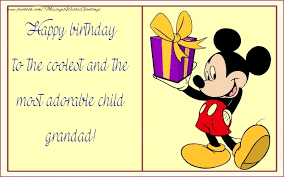 greetings cards for kids for grandfather happy birthday grandpa