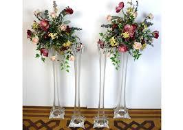 Cheap Plastic Flower Vases Eiffel Tower Vases Cheap Plastic Sale Tall Bulk Black 25907