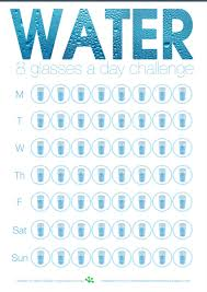 And Water Challenge Water Tracking Worksheet Pinteres