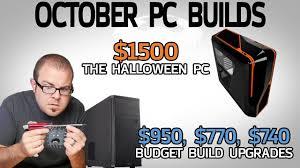 halloween pc 1500 halloween pc u0026 3 ways to upgrade the 500 system oct 2016
