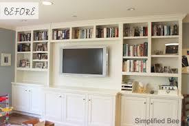 bookshelf styling before u0026 after michaela noelle designs