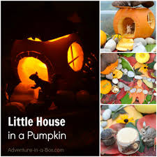 little house in the pumpkin autumn craft u0026 sensory bin