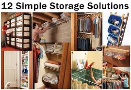 12 simple storage solutions diy craft projects