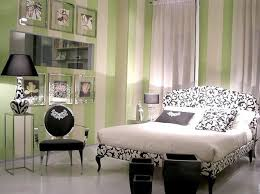 feminine interior of cute bedroom ideas feat damask bedding and