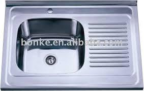 Elkay Stainless Steel Kitchen Sink by Great Single Bowl Stainless Steel Sink With Drainboard Elkay