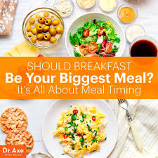 should breakfast be your biggest meal dr axe