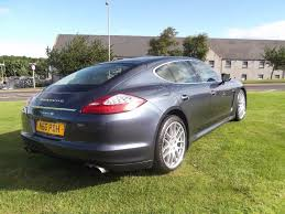 porsche panamera yachting blue used porsche panamera hatchback 4 8 v8 4s awd 5dr in elgin