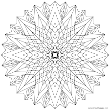 magnificent cool design coloring pages to print with geometric