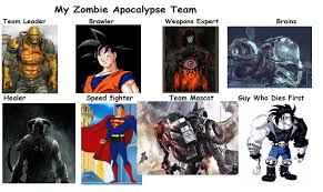 Mr Freeze Meme - zombie apocalypse team meme by popculture patron on deviantart