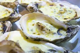 cuisiner les huitres recette huîtres gratinées au sabayon au noilly prat