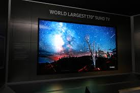 ces 2016 samsung reveals world u0027s largest 170 inch suhd television