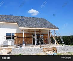 construction renovation rural house image photo bigstock