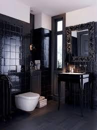 black tile bathroom ideas extraordinary black tiles in bathroom ideas home decor shower tile