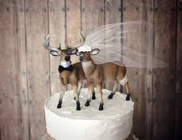 buck and doe wedding cake topper wedding cake toppers picmia