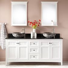 Sinks Extraordinary Double Vanity Vessel Sinks Vessel Sink Vanity - Bathroom vanities double vessel sink