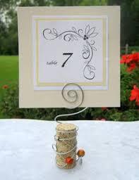 Diy Table Number Holders Diy Table Numbers Holders Diy Table Table Number Stands And