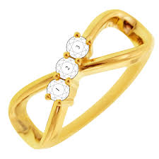 mothers infinity ring 3 infinity mothers ring in 10kt yellow gold