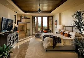 master bedroom idea with wood fake ceiling decoist bedroom